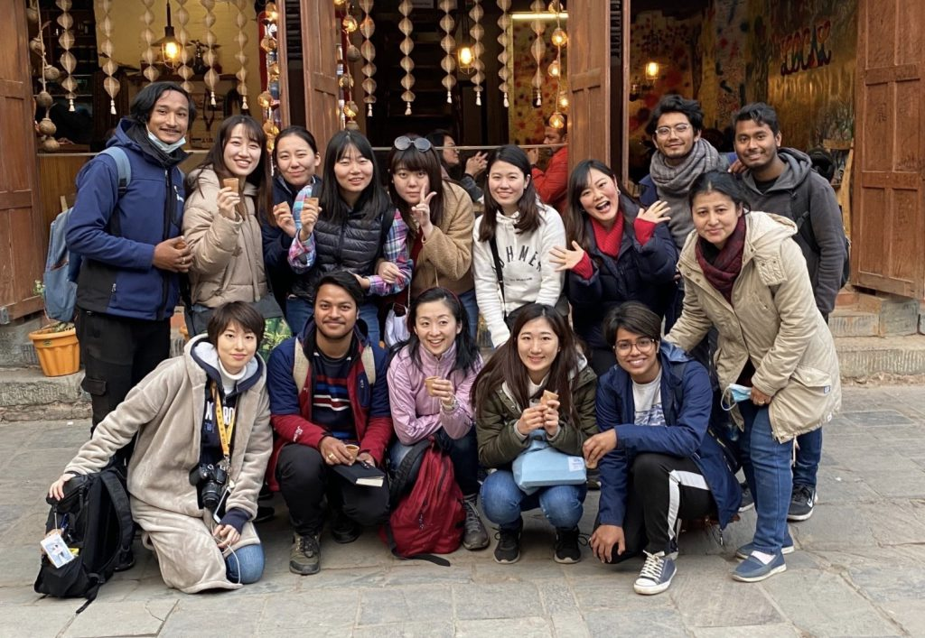 joint research project with friends in Nepal